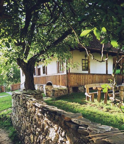 The summer residence of Prince Charles - Viscri, Transylvania, Romania