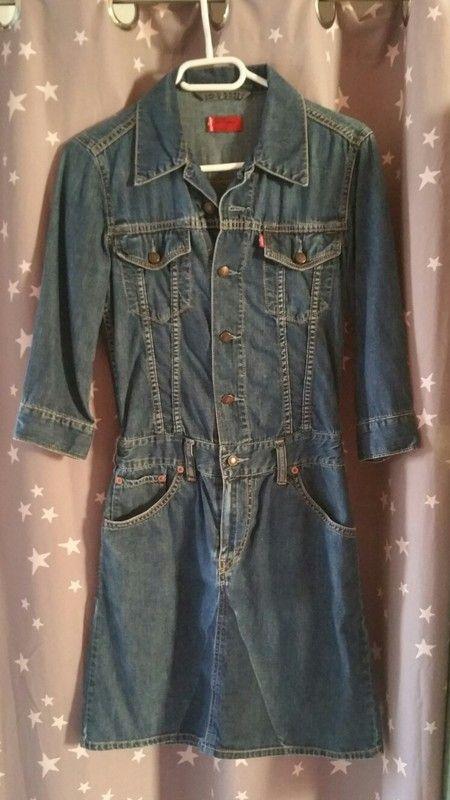 jeans kleid von levis kleiderkreisel at outfit jeans jeanskleider
