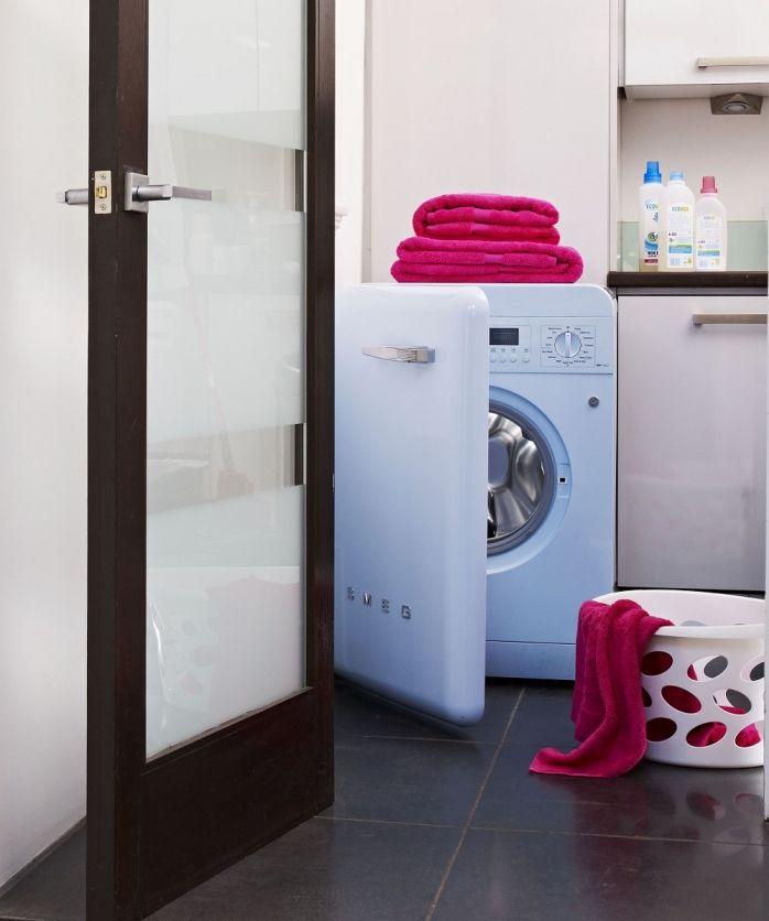 Le faccende di casa non sono mai state così belle! / Housework has never looked this good! #smeg #smeg50style #washingmachine