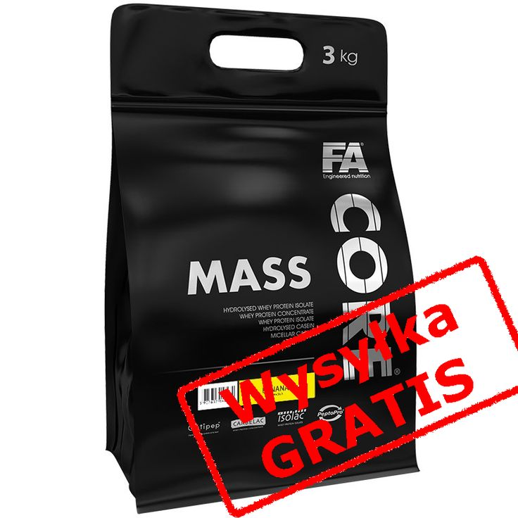Finess Authority -  MASSCORE 3kg PRÓBKA I PLAN core