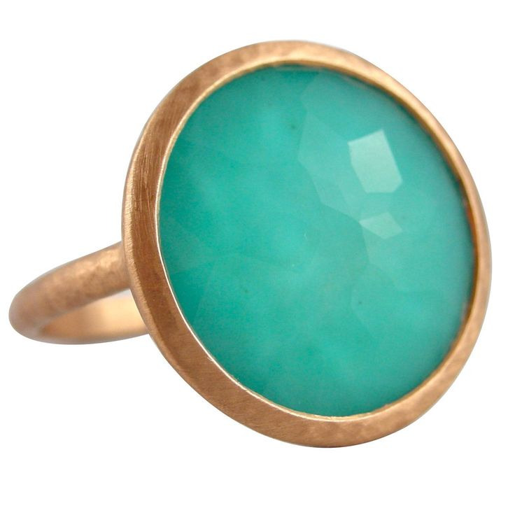 Jona Turquoise Quartz Gold Ring