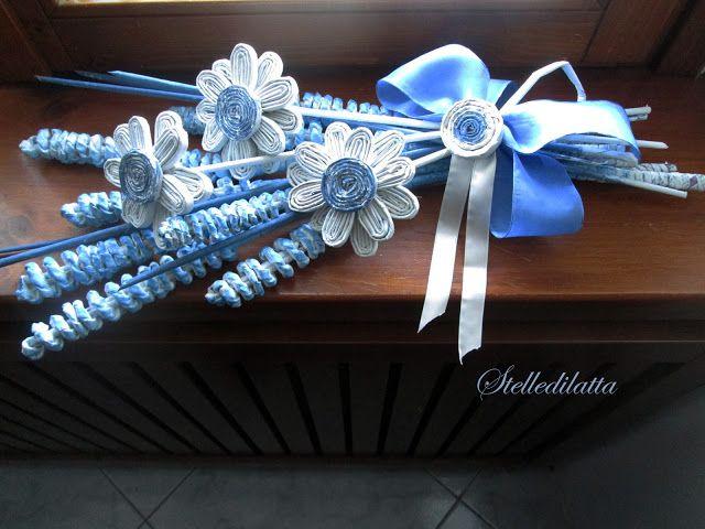 STELLEDILATTA: Bouquet celeste . . . . . . . . . . . di carta riciclata