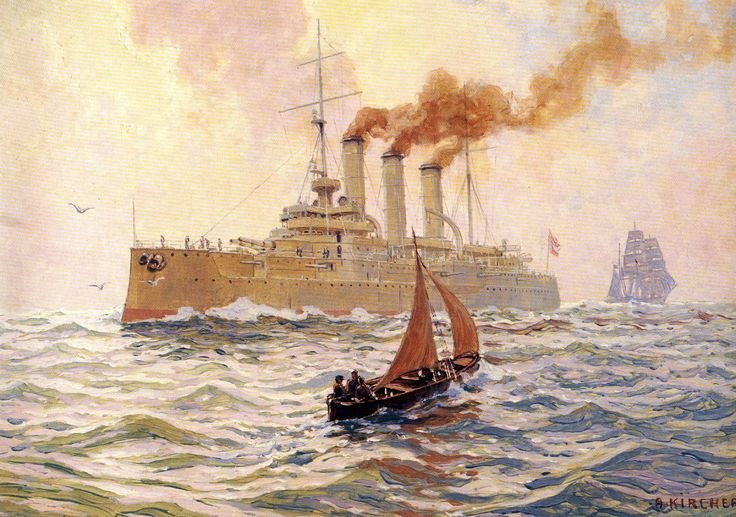 Crucero Sankt Georg 1905
