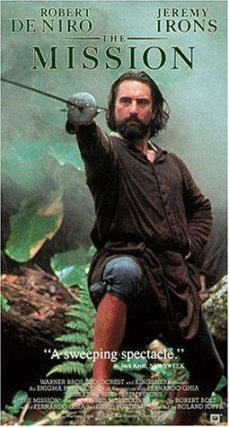 """""""The Mission"""" (1986) Robert De Niro is gorgeous."""