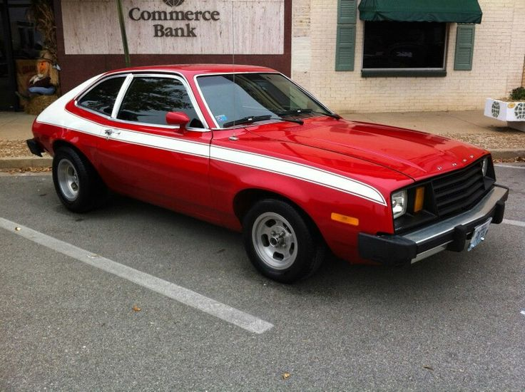 1979 Ford Pinto, Straight 4/4speed stick The Starsky & Hutch stripes are a nice touch m/ More