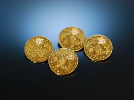 Schmuck munzen gold