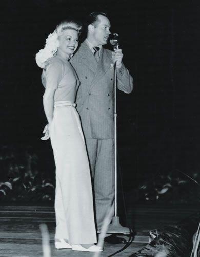 Bob Hope and Frances Langford