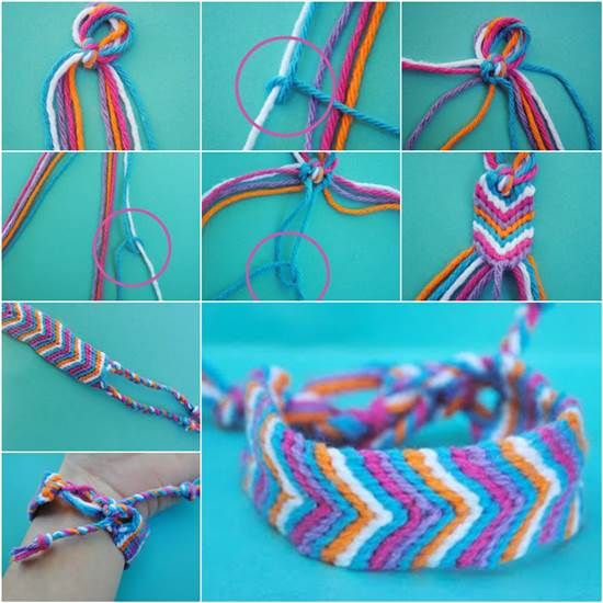 How to Make an Oversized Friendship Bracelet DIY Tutorial | iCreativeIdeas.com Like Us on Facebook ==> https://www.facebook.com/icreativeideas