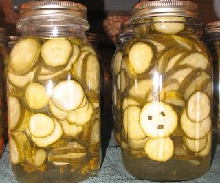 How to Can Sweet Dill Pickles - I LOVE this recipe - they taste so good!