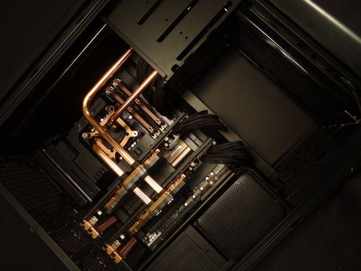 Copper watercooling TJ07 Mod ideas Pinterest Copper