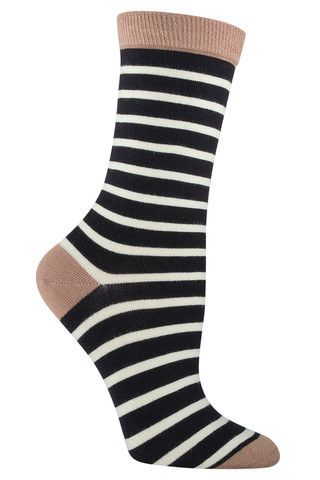 awesome sailor stripe novelty bamboo socks by socksmith