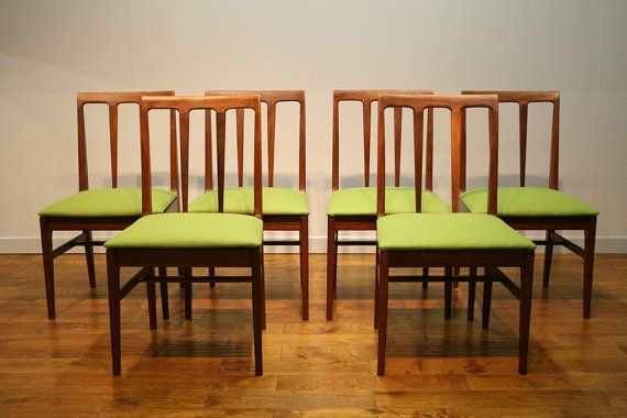 A Set of Six Vintage Younger Dining Chairs.