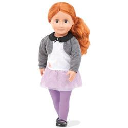 """Our Generation Ella Grace 18"""" Doll with Tulle and Lace Skirt"""
