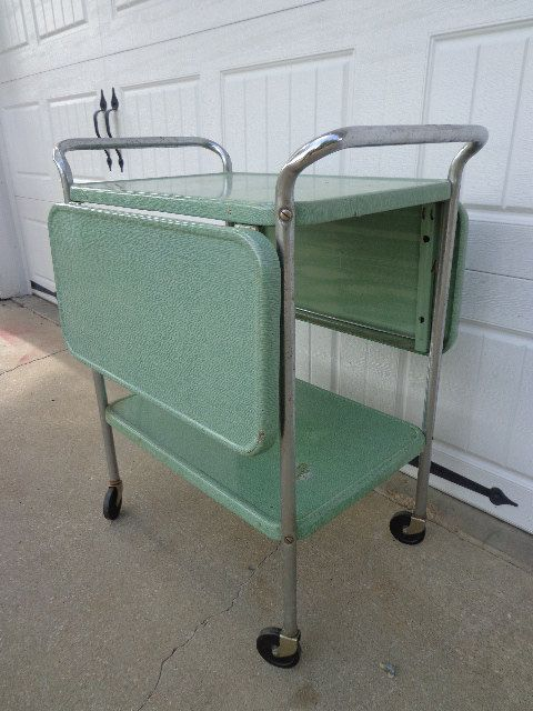 Vintage Cosco Bar Cart Mid Century Tea Cart By DejaVuDecors