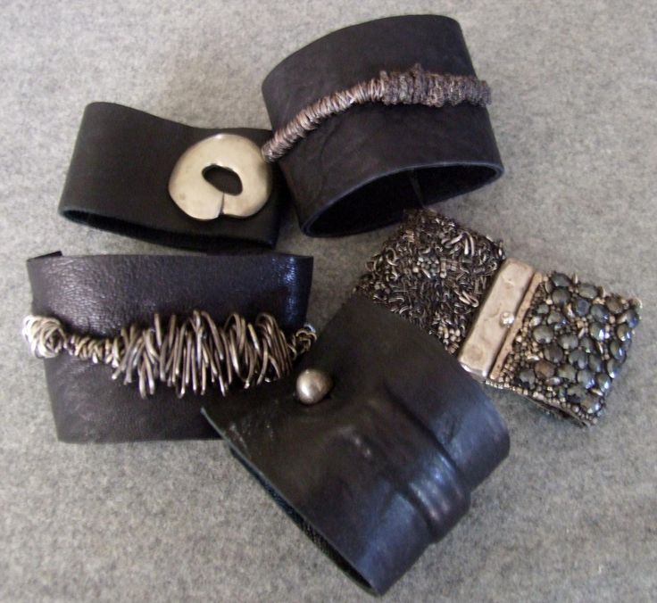 New leather cuffs 2013