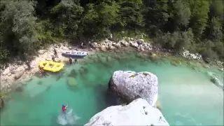 Rafting v Slovinsku s CK eurorafting - YouTube