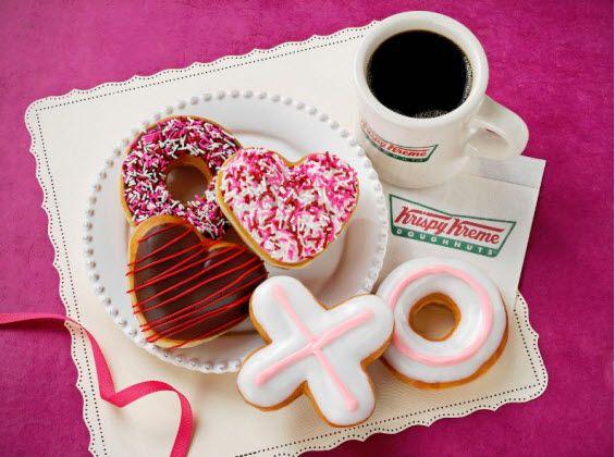 Krispy Kreme unveils 2014 Valentine's Doughnuts