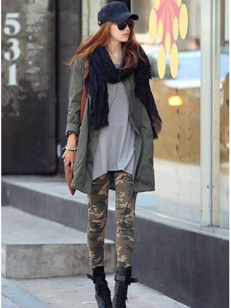 Check out this cool Army Camouflage Leggings for $7.99 http//grungeclothesshop.com/leggings ...