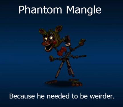 FNaF World Phantom Mangle!