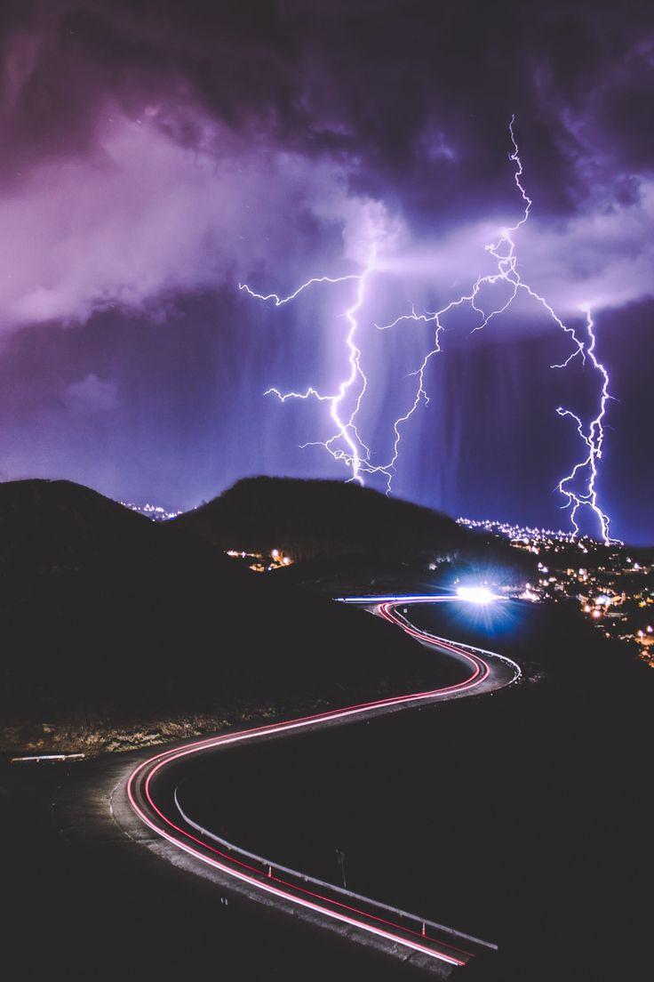 """atmospheric-phenomena: """" Thunderstorm, Extreme Weather San Francisco, United States by Emil Jarfelt """""""