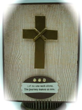 stampin up masculine | Stampin Up! Masculine Card- Cross of Faith - ink and inspirations