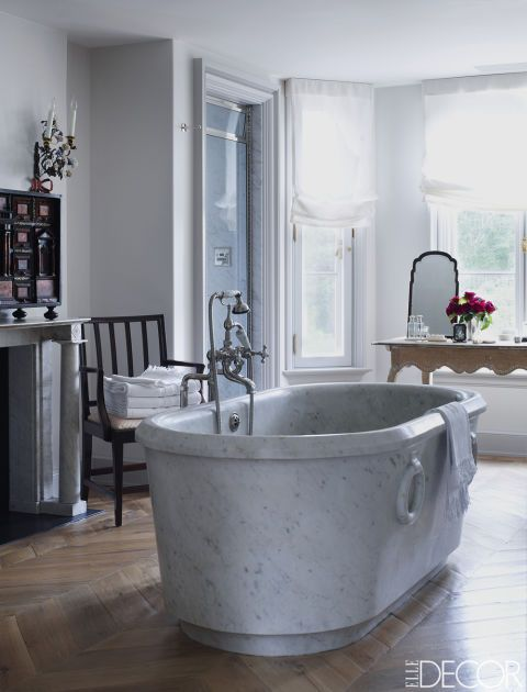 See how designer Emma Jane Pilkington brought European elegance to her family's home in Greenwich, Connecticut