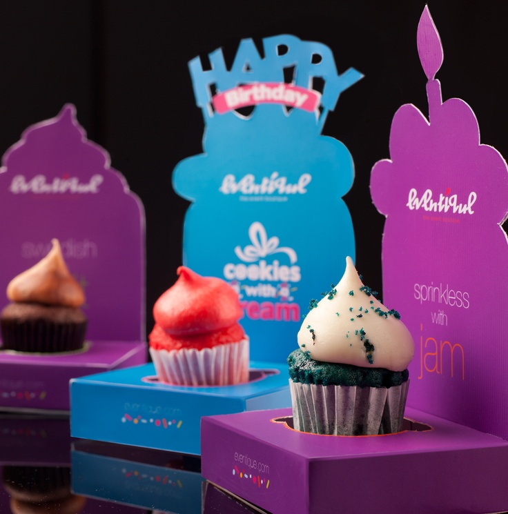 Pra deixar o dia mais doce e criativo...   Cupcake Packaging   By Cloud Rao
