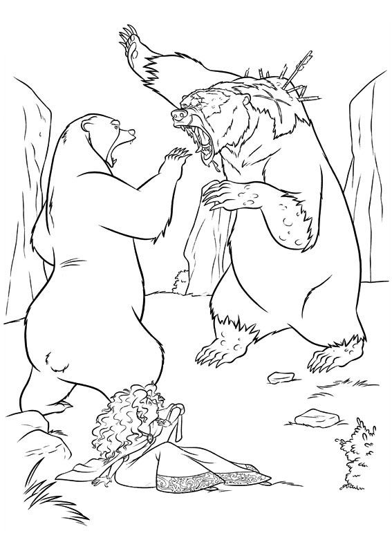 brave coloring page 76 is a coloring page from brave coloring booklet your children express their imagination when they color the brave coloring page they