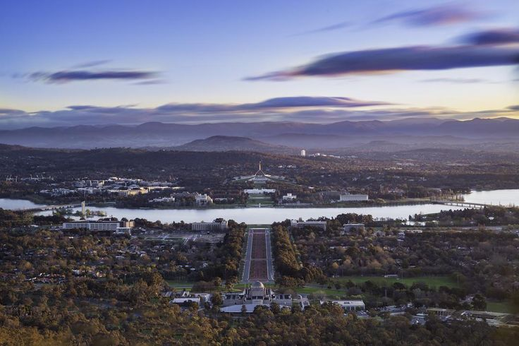 View from Mount Ainslie, Canberra, Australian Capital Territory | 48 hours in Canberra: where to stay, what to do, where to eat and drink | Image credit: Visit Canberra/ACT Government