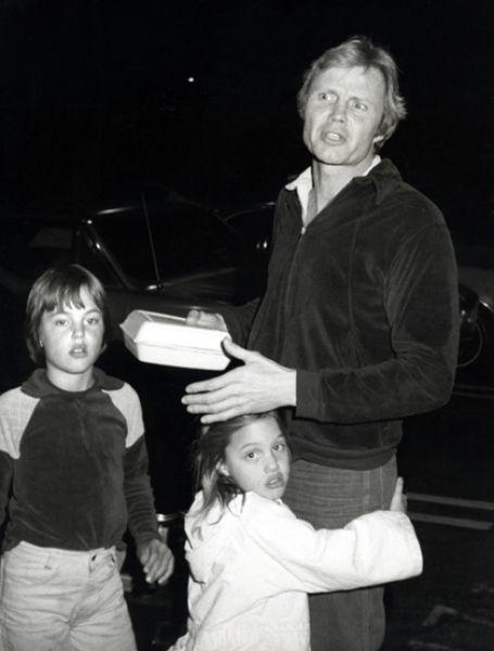 Jon Voight, Angelina Jolie and James Voight