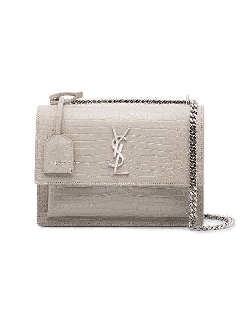 ec3cd293b11 Saint Laurent Ivory Sunset Monogram Bag - Farfetch | Handtaschen in ...