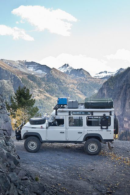 I love the idea of having just this...and driving around the world.