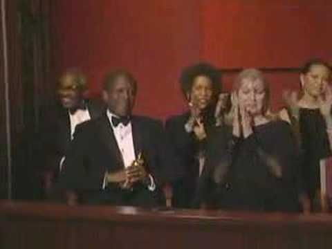 Denzel Washington's Oscar acceptance speech shows how a speaker can express what it means to win an award by acknowledging those who influenced and helped her or him.