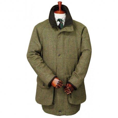 Cool Schie bekleidung Jagd M ntel Jacken Schottenkaro Modell Zubeh r Tweed Shooting Jacket Tweed Coat