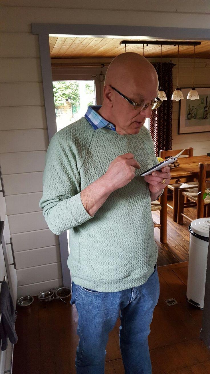 Chess sweater lmv voor de grote broer. leuk gecombineerd met een hemd..
