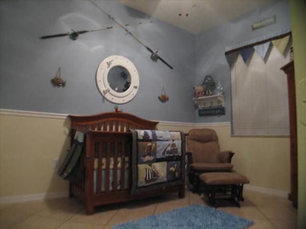Baby boy bedding nautical - Like The Split Don T Know About The Fishing Theme Maybe