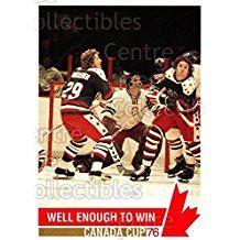 Team Czech, Team USA Hockey Card 1992 Future Trends Canada Cup 1976 #146 Team Czech, Team USA