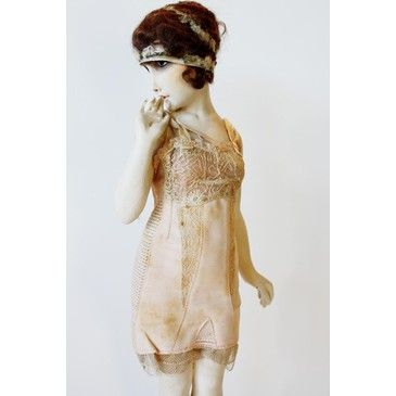 French 1920s Lingerie Fashion Model Mannequin