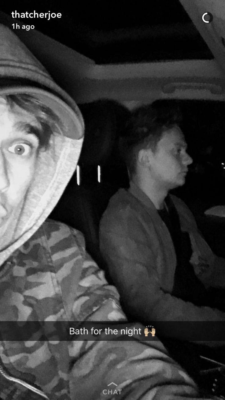 Joe + Conor on a road trip