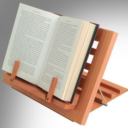 Wooden Reading Rest #bookstand