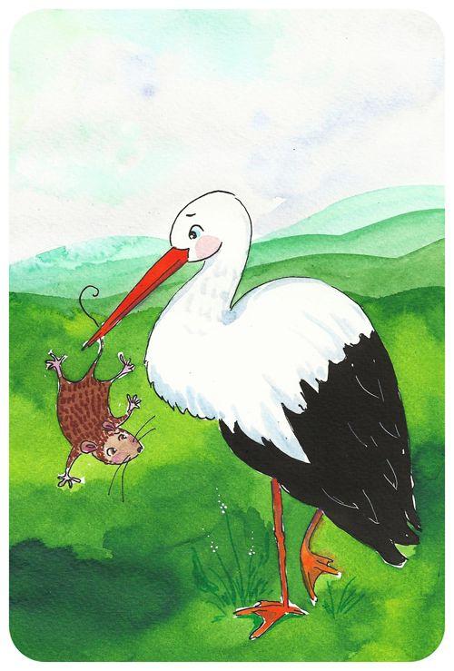 Mesemalom - Miró Anna Dorka: A gólya és az egér