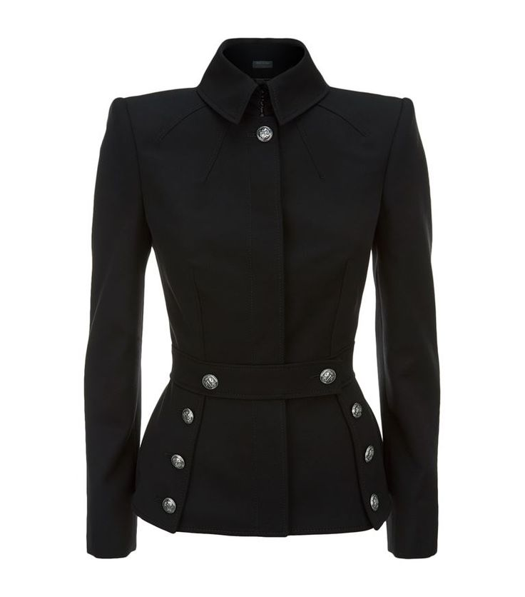 Women: Jackets Alexander McQueen Military Jacket