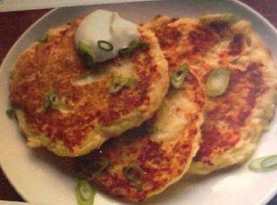 Irish Boxty (fried potato pancakes) from Nancy Patrykus on www.justapinch.com!