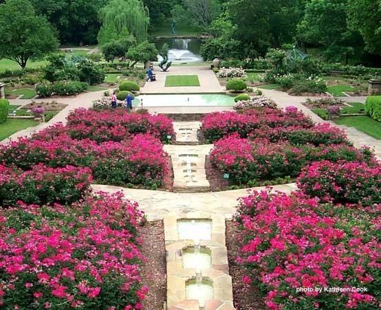 Fort Worth Botanic Gardens Fort Worth Texas Fort Worth 39 S Legendary Landmarks Scenery From
