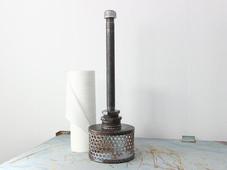 http://metalmarkeclectics.com/paper-towel-holders/… #interior #luxurykitchen #industrial #decor #design #modern #eclectic #notthesame
