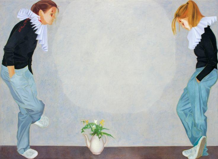 Iwona Zawadzka, Rozpoznanie clowna, 2009 #art #contemporary #artvee