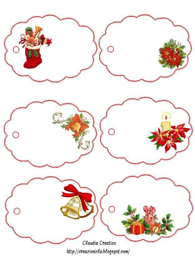 новогодние ярлычки для подарков. Обсуждение на LiveInternet - Российский Сервис Онлайн-Дневников