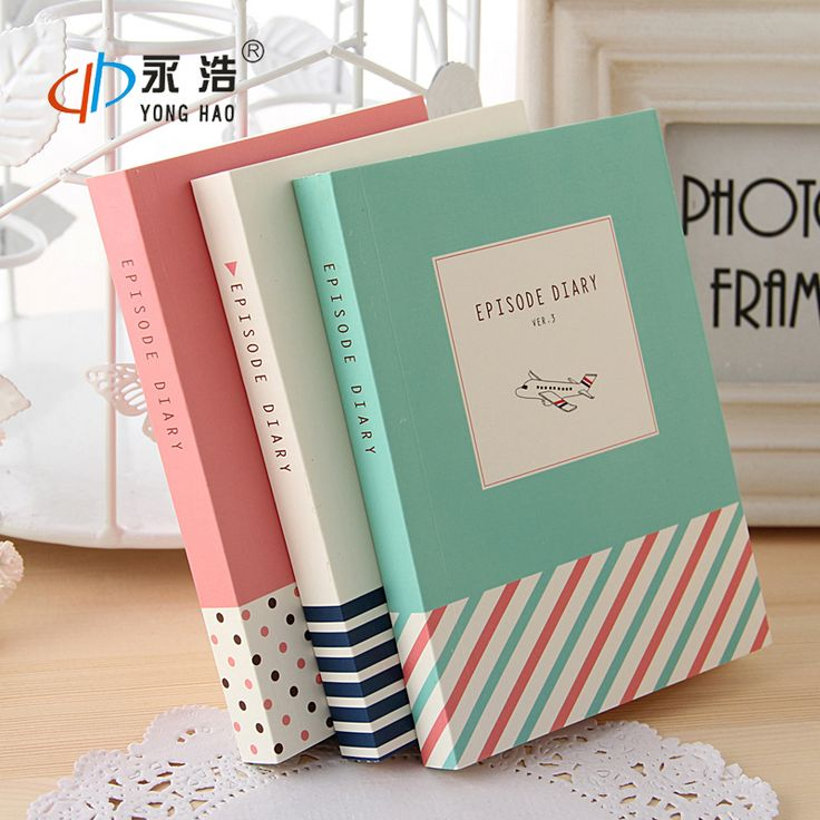 episode 1pc journal diary cute pocket planner blank paper notebook notepad