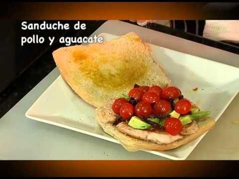 Sánduche de Pollo y Aguacate.