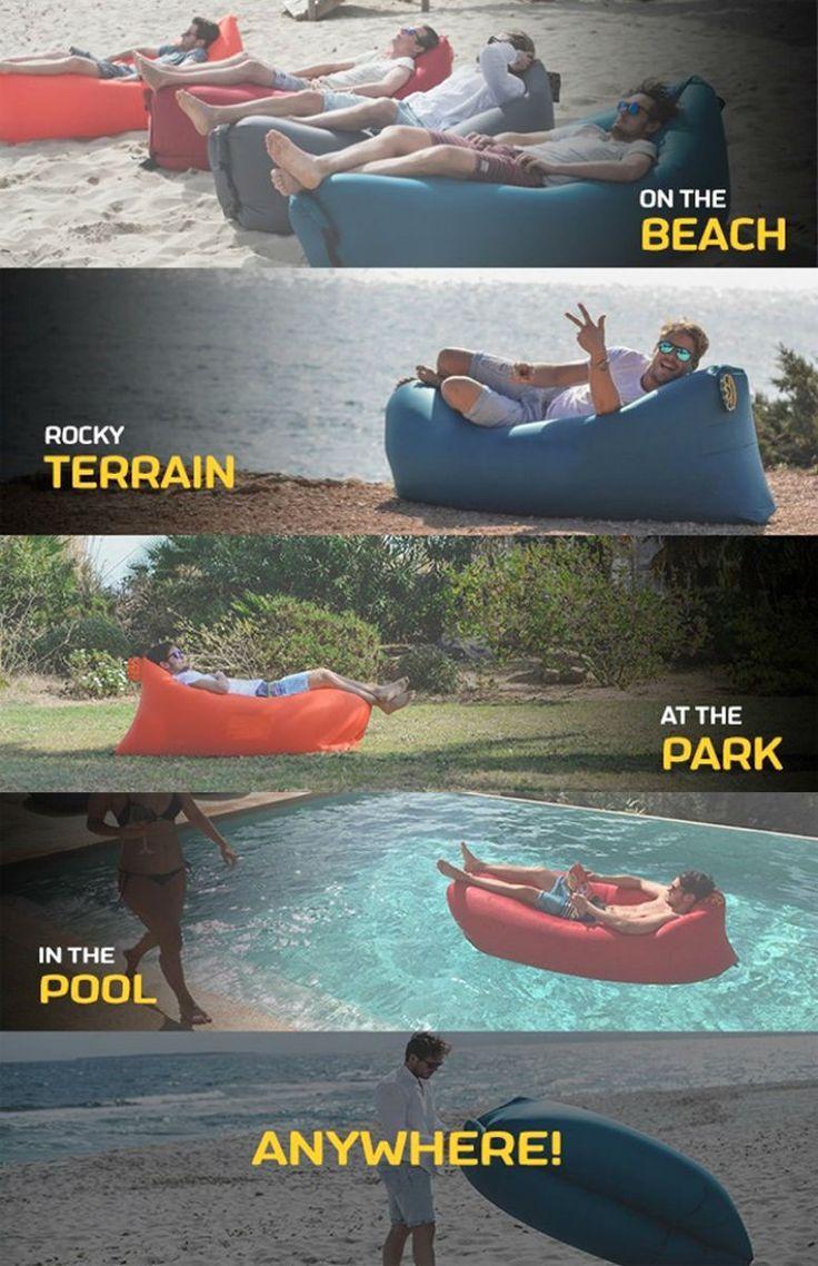 LayBag. Inflatable sofa. http://whymattress.com/lamzac-hangout-reviews/ https://worldofarcadian.com